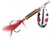 SPRO Powercatcher Spinner, Gr. 4, 8 g, Silver Black/Red