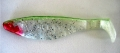 RELAX Kopyto 4, 10-12 cm (4), spray, perlweiss/Glitter/grün