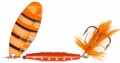 Abu Garcia Reflex Red Spinner, Orange, 7 g