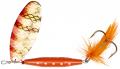 Abu Garcia Reflex Red Spinner, Copper/Red Flash, 18 g