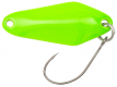 Berkley Area Game Spoon CHISAI, Vert Lime Green/Gold/Gold, 2 cm, 1,5 g